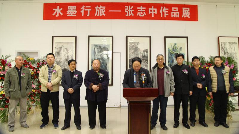 青岛掇英斋文化传媒公司董事长刘伟志;山东黄河文化艺术公司副总经理