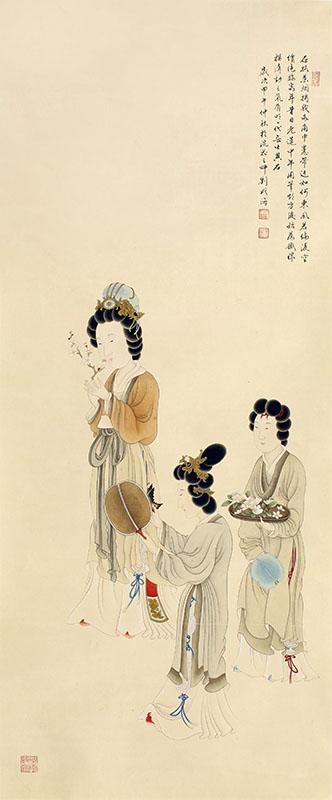 """""""春天的呼唤--刘成海工笔画作品展""""开幕酒会将于2018年元月27日上午10"""
